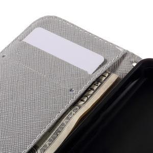 Styles peněženkové pouzdro na mobil Lenovo A319 - kocour - 7