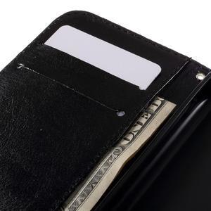 Styles peněženkové pouzdro na mobil Lenovo A319 - modrý motýl - 7