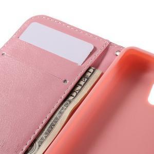 Styles peněženkové pouzdro na mobil Lenovo A319 - květiny - 7