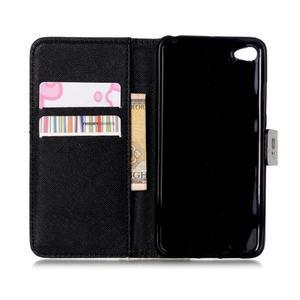 Style peněženkové pouzdro na mobil Lenovo S90 - sedmikrásky - 7
