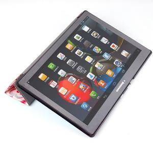 Polohovatelné pouzdro na tablet Lenovo Tab 2 A10-70 - srdíčka - 7