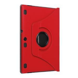 Pouzdro s otočnou funkcí na tablet Lenovo Tab 2 A10-70 - červené - 7