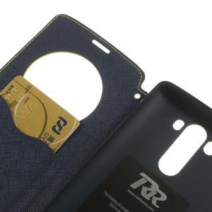 Diary pouzdro s okýnkem na mobil LG G3 - zelené - 7
