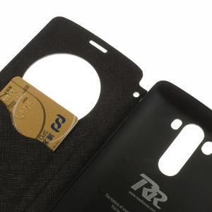 Diary pouzdro s okýnkem na mobil LG G3 - tmavěmodré - 7