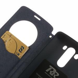 Diary pouzdro s okýnkem na mobil LG G3 - fialové - 7