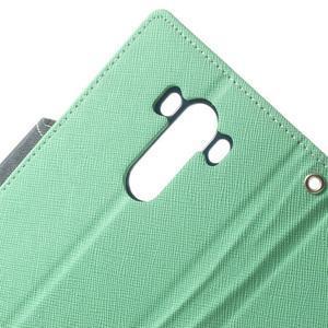 Goos peněženkové pouzdro na LG G3 - cyan - 7