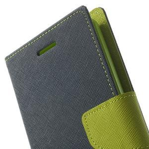 Goos peněženkové pouzdro na LG G3 - tmavěmodré - 7