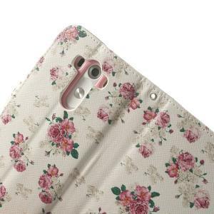 Ultra motive peněženkové pouzdro na LG G3 - květiny - 7
