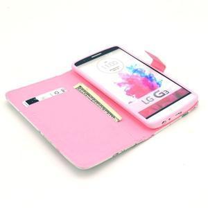 Obrázkové pouzdro na mobil LG G3 - květiny - 7