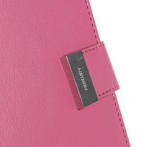 Luxusní PU kožené pouzdro na mobil LG G3 - rose - 7