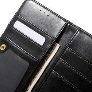 Patrové peněženkové pouzdro na mobil LG G3 - černé - 7