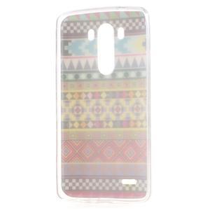 Gelový kryt na mobil LG G3 - vzory - 7