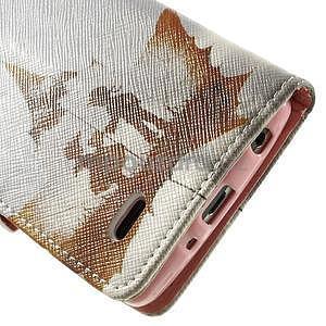 Zapínací peněženkové pouzdro pro LG G3 s - láska - 7