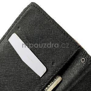 Zapínací peněženkové pouzdro pro LG G3 s - květina mandala - 7