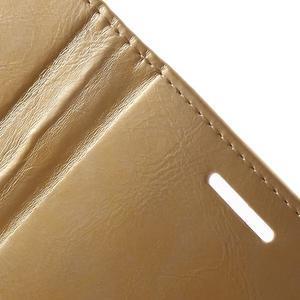 Luxury PU kožené pouzdro na mobil LG G4 - zlaté - 7