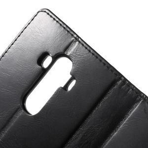 Luxury PU kožené pouzdro na mobil LG G4 - černé - 7