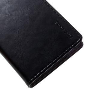 Luxury PU kožené pouzdro na mobil LG G5 - černé - 7