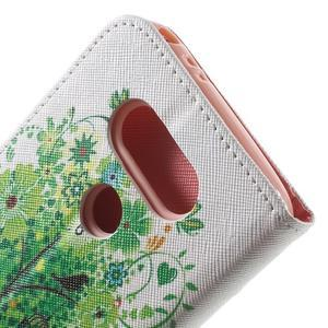 Wall peněženkové pouzdro na LG G5 - zelený strom - 7