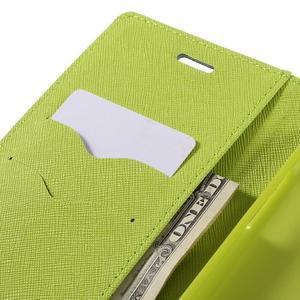 Goos stylové PU kožené pouzdro na LG G5 - modré - 7