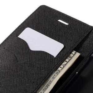 Goos stylové PU kožené pouzdro na LG G5 - černé - 7