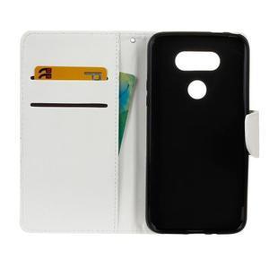 Lees peněženkové pouzdro na LG G5 - bílé - 7