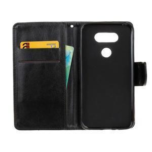 Lees peněženkové pouzdro na LG G5 - černé - 7