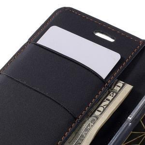 Diary PU kožené pouzdro na mobil LG G5 - černé - 7