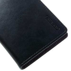 Luxury PU kožené pouzdro na mobil LG G5 - tmavěmodré - 7