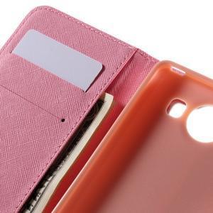 Peněženkové pouzdro na Microsoft Lumia 950 - kouzelní motýlci - 7