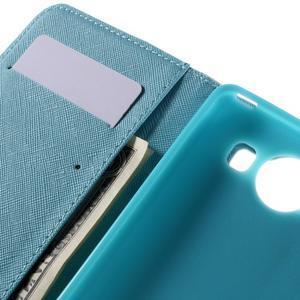 Peněženkové pouzdro na Microsoft Lumia 950 - malované srdce - 7
