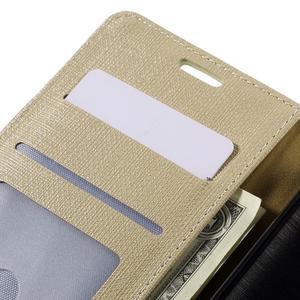 Cloth peněženkové pouzdro na mobil Microsoft Lumia 950 - champagne - 7