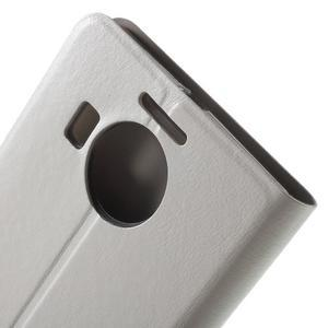Horse peněženkové pouzdro na Microsoft Lumia 950 XL - bílé - 7
