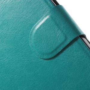 Horse peněženkové pouzdro na Microsoft Lumia 950 XL - modré - 7