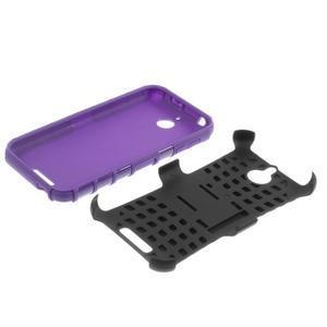 Outdoor odolný kryt na mobil HTC Desire 510 - fialový - 7
