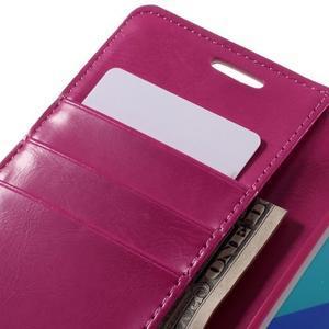 Luxusní PU kožené pouzdro na mobil Samsung Galaxy A5 (2016) - rose - 7