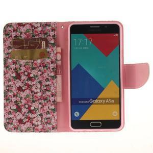 Pouzdro na mobil Samsung Galaxy A5 (2016) - růže - 7