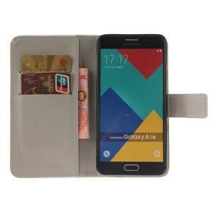 Wall peněženkové pouzdro na Samsung Galaxy A5 (2016) - peříčka - 7