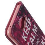 Softy peněženkové pouzdro na Samsung Galaxy A5 (2016) - Keep Calm - 7/7