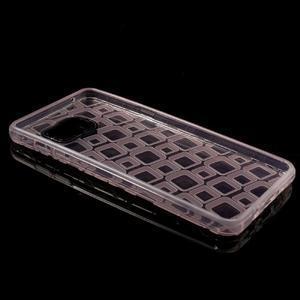 Square gelový obal na mobil Samsung Galaxy A5 (2016) - růžový - 7