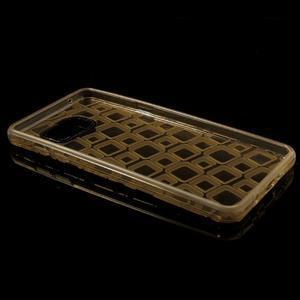 Square gelový obal na mobil Samsung Galaxy A5 (2016) - zlatý - 7