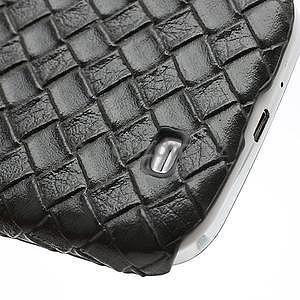 PU kožené pouzdro na Samsung Galaxy S4 - černé - 7