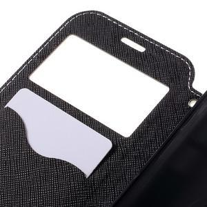 Diary pouzdro s okýnkem na Samsung Galaxy S7 - bílé - 7