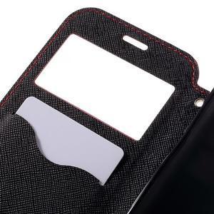 Diary pouzdro s okýnkem na Samsung Galaxy S7 - červené - 7