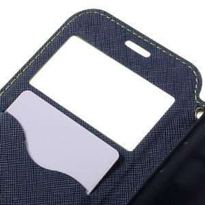 Diary pouzdro s okýnkem na Samsung Galaxy S7 - zelené - 7