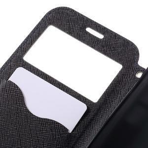 Diary pouzdro s okýnkem na Samsung Galaxy S7 - tmavěmodré - 7