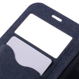 Diary pouzdro s okýnkem na Samsung Galaxy S7 - fialové - 7