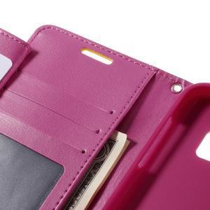 Luxury PU kožené pouzdro na Samsung Galaxy S7 - žluté - 7