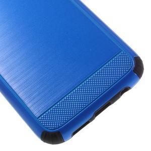 Odolný dvoudílný obal na Samsung Galaxy S7 edge - modrý - 7