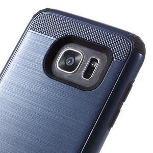Odolný dvoudílný obal na Samsung Galaxy S7 edge - tmavěmodrý - 7