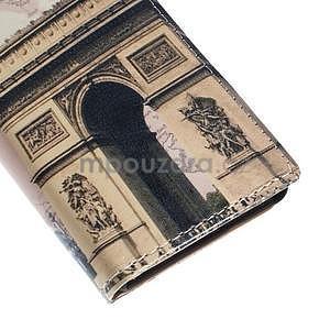 Peněženkové pouzdro na Sony Xperia M4 Aqua - vítězný oblouk - 7